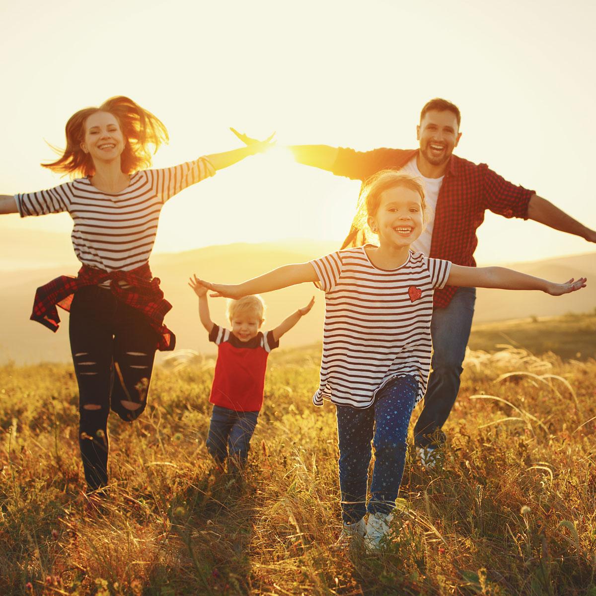 happy-family-in-the-fields