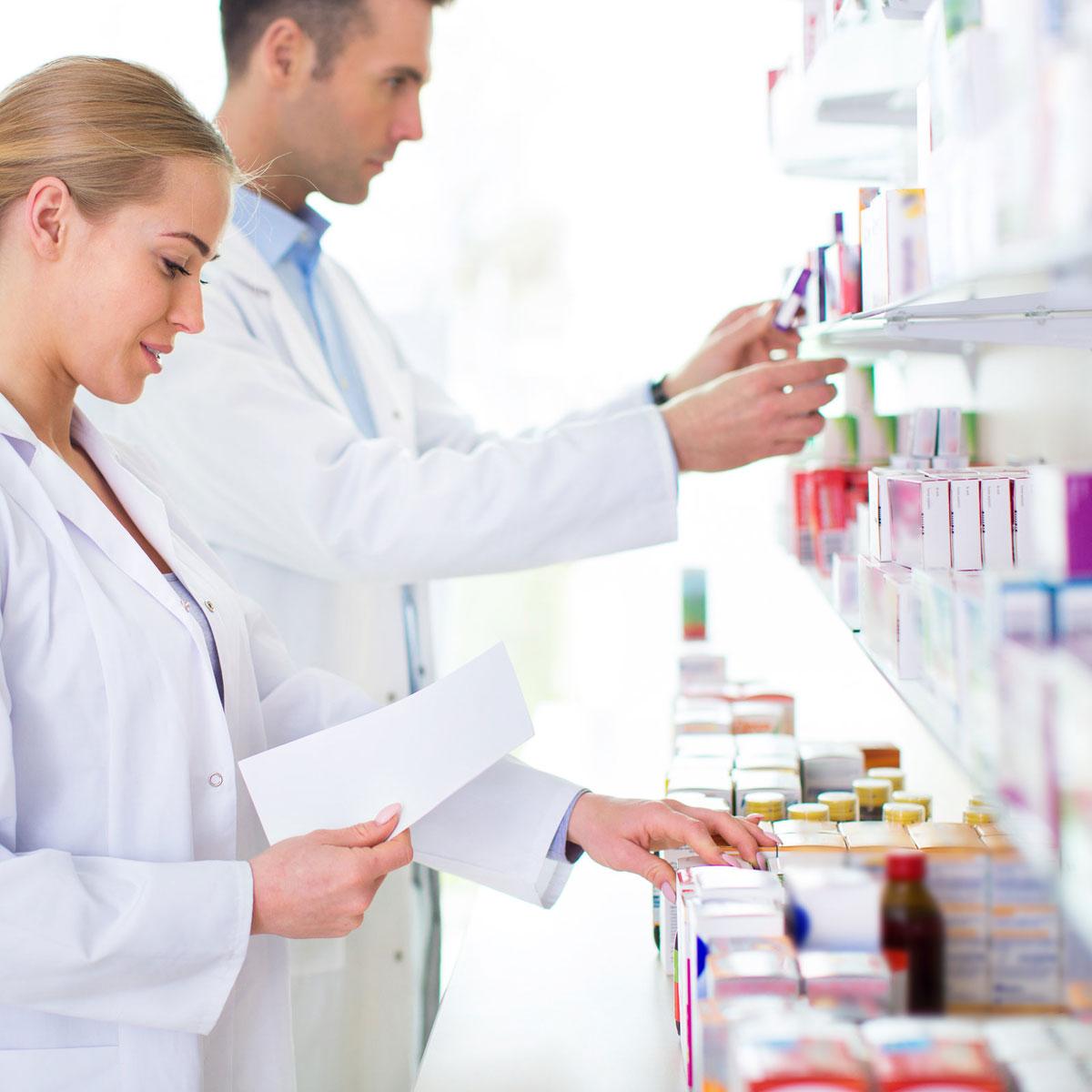 pharmacists-getting-medicine